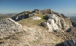 Ruinen des kleinen Schlosses Lizenzfreie Stockfotografie