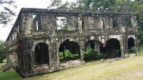 Ruinen des Krieges Stockfotografie