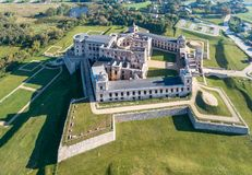 Ruinen des Krzyztopor Schlosses in Ujazd, Polen lizenzfreies stockfoto