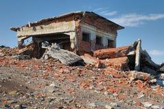 Ruinen des letzten Jahrhunderts Lizenzfreies Stockbild