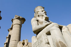 Ruinen des Luxor-Tempels Stockbild