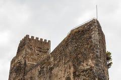 Ruinen des normannischen Schlosses in Aci Castello, Sizilien-Insel Stockfotografie