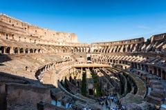 Ruinen des römischen Forums Rom, Italien lizenzfreie stockfotografie