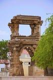 Ruinen des Rudramala oder des Tempels Rudra Mahalaya, Sidhpur, Patan, Gujarat, Indien Stockbild