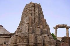 Ruinen des Rudramala oder des Tempels Rudra Mahalaya, Sidhpur, Patan, Gujarat, Indien Lizenzfreies Stockfoto
