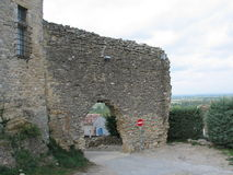 Ruinen des schönen Schlosses Lizenzfreie Stockfotos