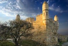 Ruinen des Schlosses Lizenzfreie Stockfotos
