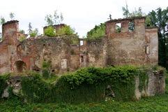 Ruinen des Schlosses Stockfoto