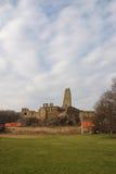 Ruinen des Schlosses Okor Stockfoto