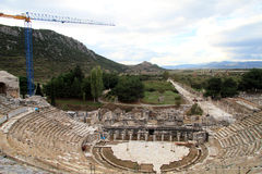 Ruinen des Theaters Lizenzfreie Stockbilder