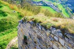 Ruinen des Verstärkungsbollwerks Mittelalterlicher Wall Stockbilder