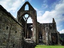 Ruinen einer Abtei Stockfoto