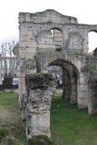 Ruinen einer mittelalterlichen Stadt Lizenzfreie Stockfotografie