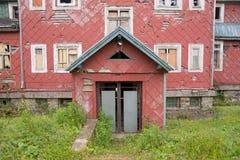 Ruinen eines alten Hotels Lizenzfreies Stockfoto
