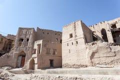 Ruinen eines Dorfs von Oman Lizenzfreie Stockfotos