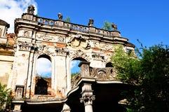Ruinen eines Palastes lizenzfreies stockbild