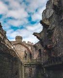 Ruinen eines Schlosses Lizenzfreie Stockfotografie