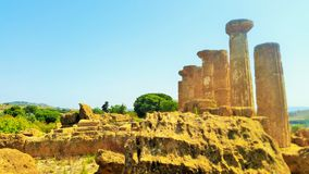 Ruinen eines Tempels Lizenzfreies Stockfoto
