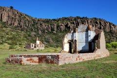 Ruinen am Fort Davis Lizenzfreies Stockbild
