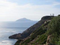 Ruinen in Griechenland lizenzfreies stockbild