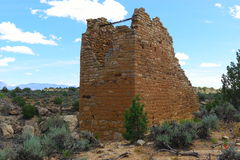 Ruinen Hovenweep Stockfotografie