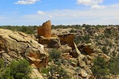 Ruinen Hovenweep Stockbilder
