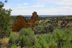 Ruinen Hovenweep Stockfoto