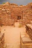 Ruinen im aztekischen New Mexiko Stockfoto