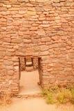 Ruinen im aztekischen New Mexiko Stockfotos