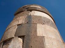 Ruinen im Peru-Turmgrab lizenzfreie stockfotografie