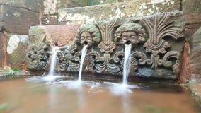 Ruinen im Wasser Stockfotos