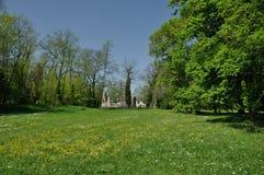 Ruinen Italiens Castelseprio Lizenzfreie Stockfotos
