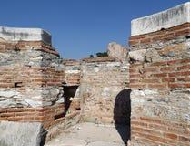 Ruinen-Kirche Johannes in Selcuk Turkey Lizenzfreies Stockbild