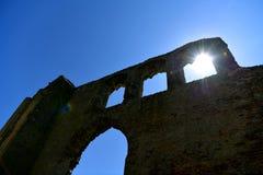 Ruinen-Kirche St Andrew, Walberswick Großbritannien, Lizenzfreies Stockbild