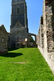 Ruinen-Kirche St Andrew, Walberswick Großbritannien, Stockbilder