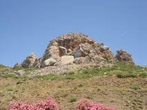 Ruinen in Kos, Griechenland stockfotografie