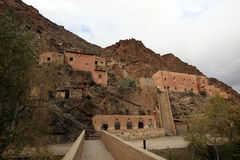 Ruinen nähern sich Midelt, Marokko Lizenzfreie Stockfotos