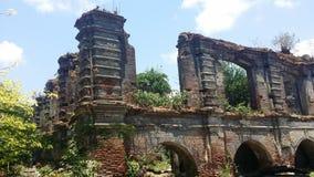 Ruinen in Paoay Stockfoto