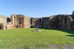 Ruinen in Pompeji Stockfoto