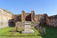 Ruinen in Pompeji Lizenzfreie Stockfotografie