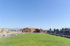 Ruinen in Pompeji Lizenzfreies Stockfoto