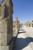 Ruinen in Pompeji, Italien Lizenzfreies Stockfoto