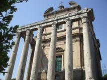 Ruinen in Rom Stockfoto
