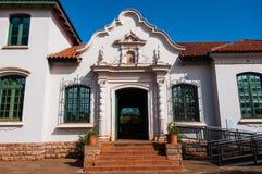 Ruinen Sans Ignacio Mini Jesuites, Misiones, Argentinien lizenzfreies stockfoto