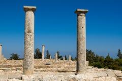 Ruinen am Schongebiet von Apollon Ylatis, Zypern Stockbilder