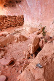 Ruinen, Sedona AZ Stockbild