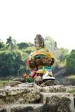 Ruinen-Statue von Buddha Lizenzfreie Stockfotos
