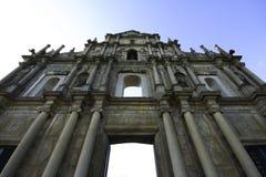Ruinen Str.-Pauls, Macau Stockbilder