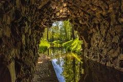 Ruinen Tschechischer Republik ägyptischer Pavillon Vsestudy stockfoto
