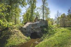 Ruinen Tschechischer Republik ?gyptischer Pavillon Vsestudy stockfoto